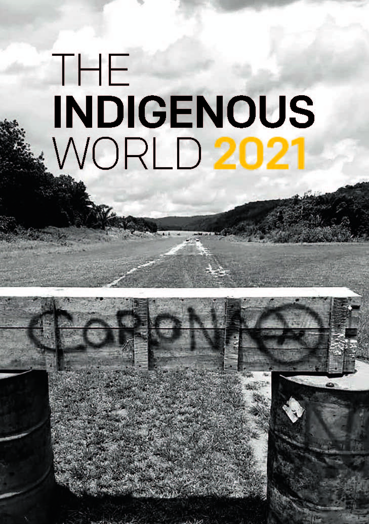 IWGIA Book The Indigenous World 2021 ENG cover