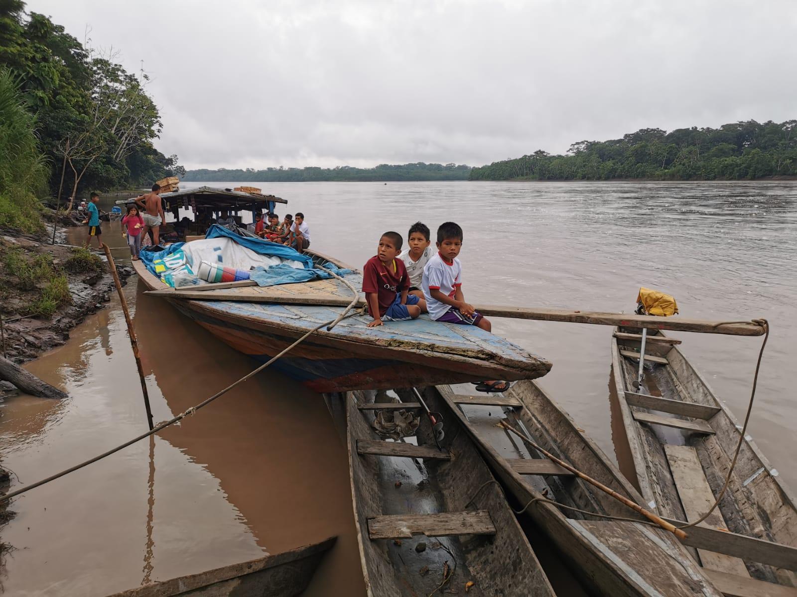 Wampi youth from Peru (Alejandro Parellada//IWGIA)