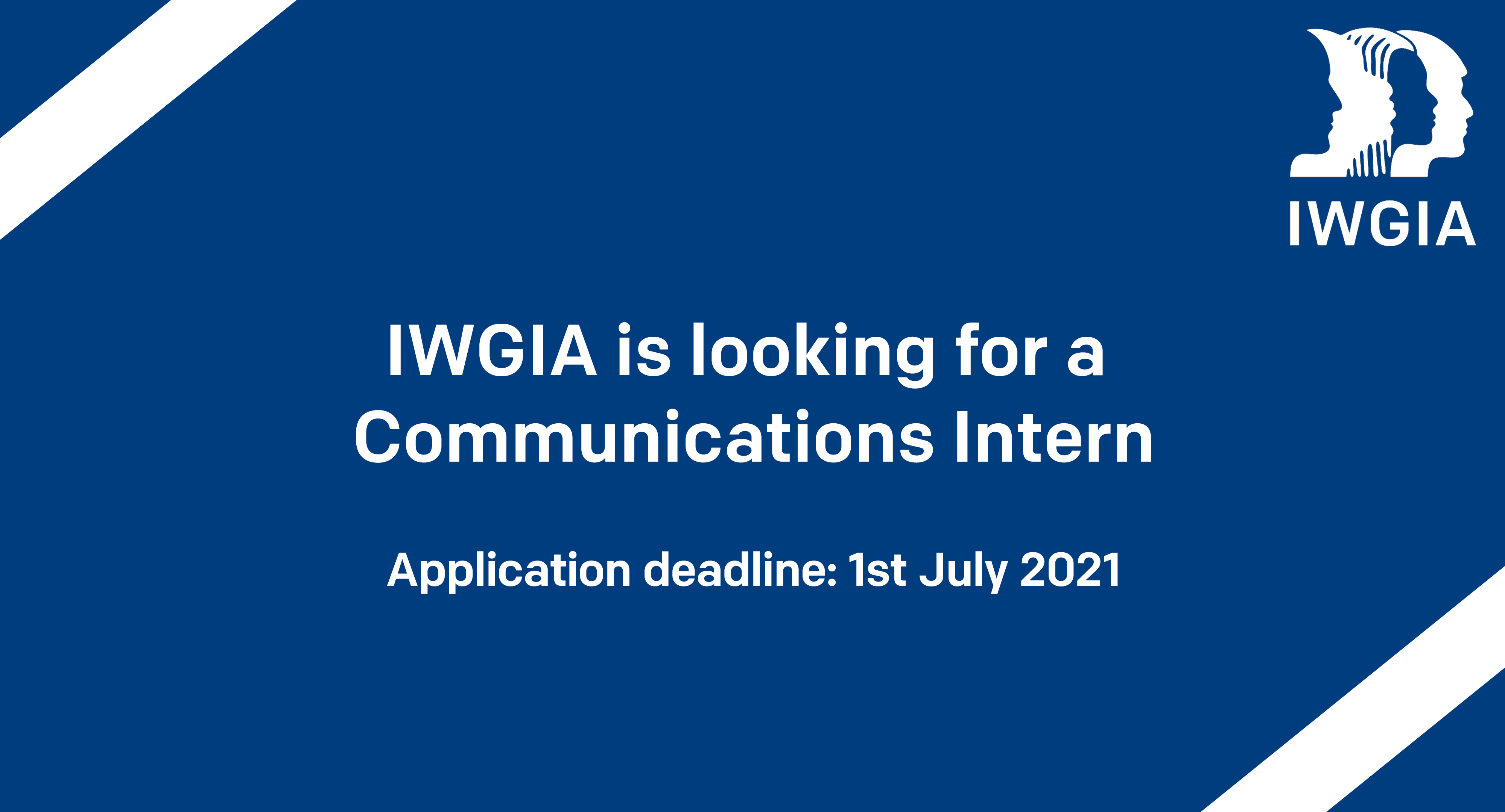 Iwgia communications interns 2021