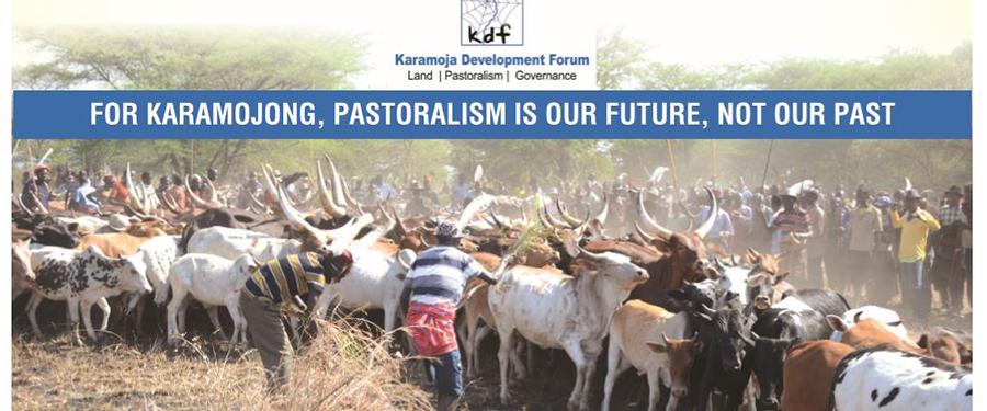 Karamojong pastoralists Mark Akiudakin, a migration festival in January 2019: Karamoja Development Forum