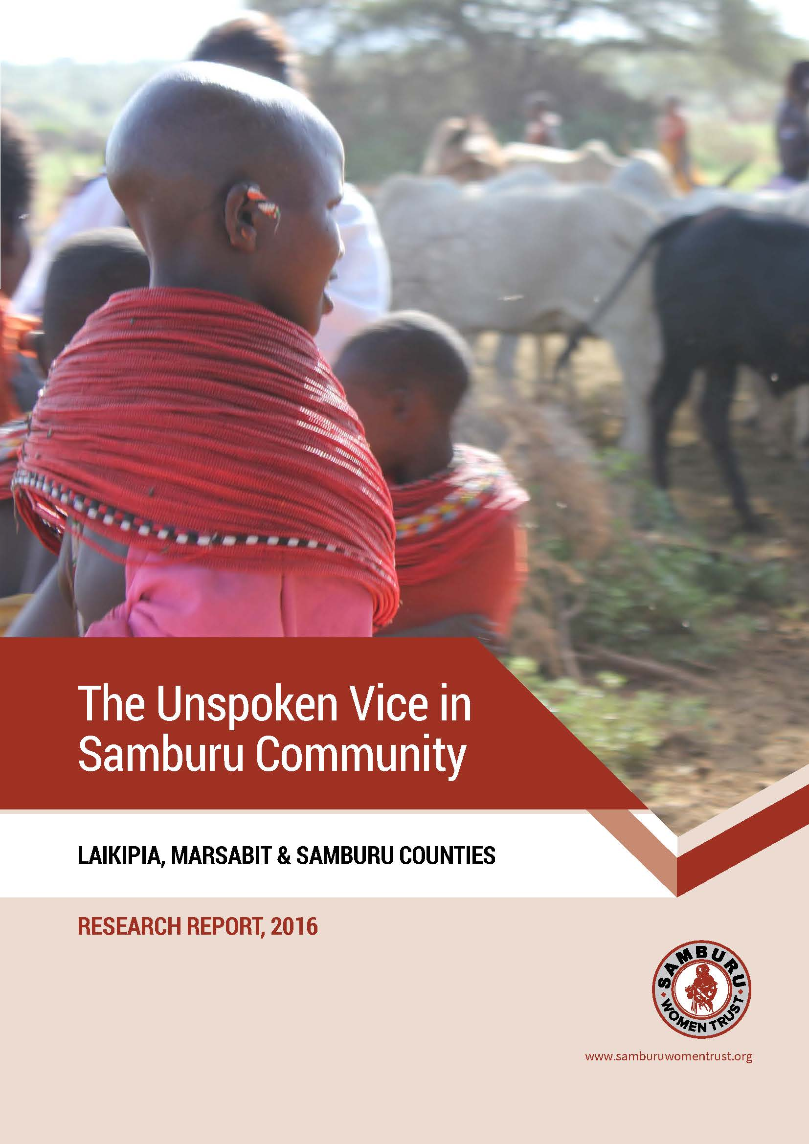 The Unspoken Vice in Samburu Community